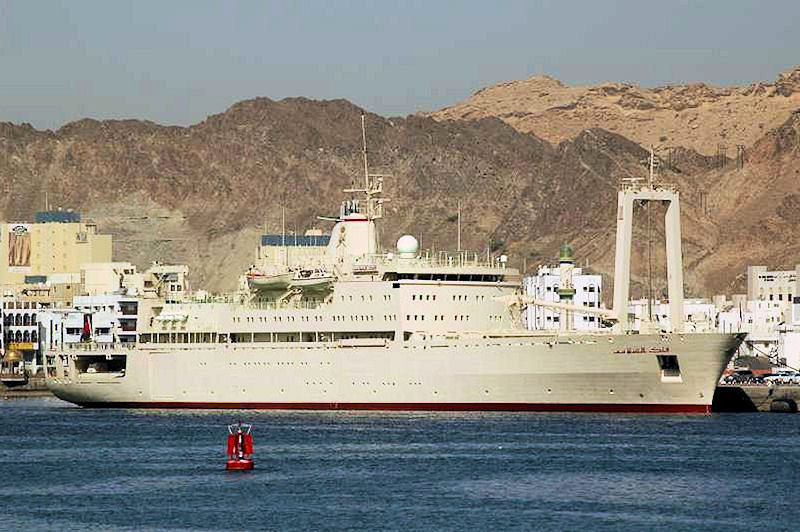 Royal Navy Of Oman RNO Motor Yacht Fulk Al Salamah