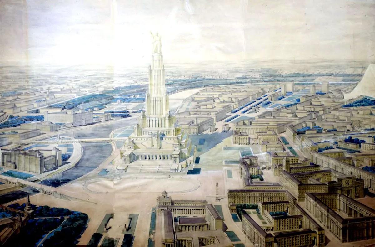 Stalin Palace Of Soviets