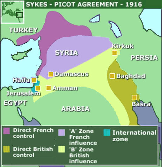 The Western Imposed Partition Of The Middle East Is Dead Stop
