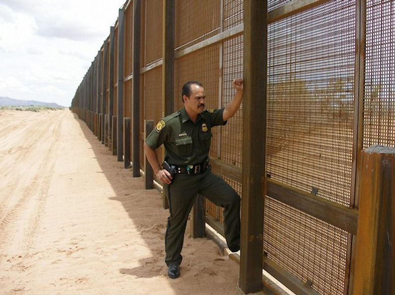 Image result for map of us mexican border and fense current and proposed