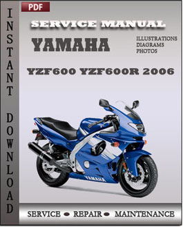 Yamaha YZF600 YZF600R 2006 manual