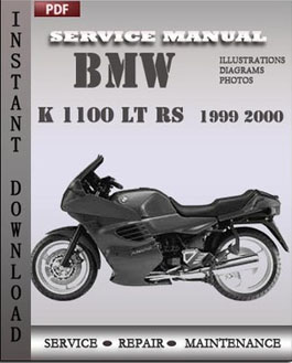 BMW K 1100 LT RS 1999 2000 manual
