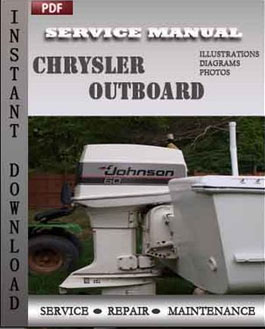 Chrysler Outboard 35 45 55 Hp manual