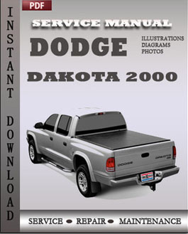 Dodge Dakota 2000 manual