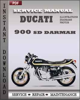 Ducati 900 SD Darmah manual