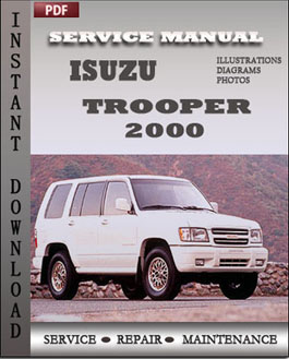 Isuzu Trooper 2000 manual