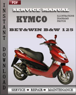 Kymco Bet&win B&W 125 manual