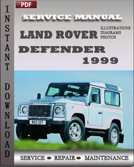 Land Rover Defender 1999 manual