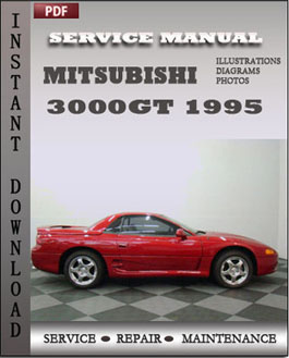 Mitsubishi 3000GT 1995 manual