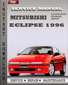 Mitsubishi Eclipse 1996 manual