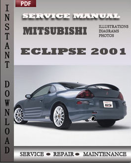 Mitsubishi Eclipse 2001 manual