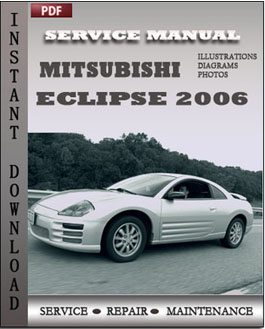Mitsubishi Eclipse 2006 manual