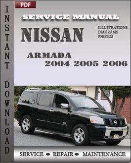 Nissan Armada 2004 2005 2006 manual