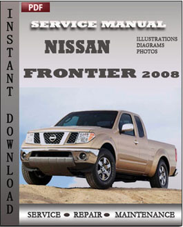 Nissan Frontier 2008 manual