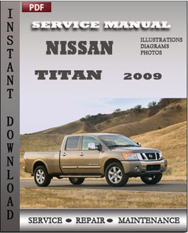 Nissan Titan 2009 manual