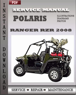Polaris Ranger RZR 2008 manual