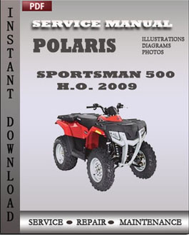 Polaris Sportsman 500 HO 500 EFI X2 500 EFI Touring 500 EFI 2009 ATV manual wiring diagram polaris 2005 500 ho the wiring diagram 2005 polaris sportsman 500 wiring diagram pdf at reclaimingppi.co