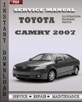 Toyota Camary 2007 manual