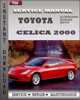 Toyota Celica 2000 manual