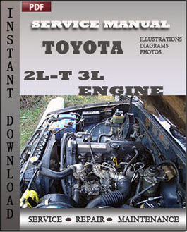 Toyota Motor 2L-t 3L Engine manual