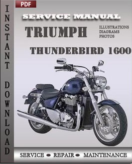 Triumph Thunderbird 1600 manual