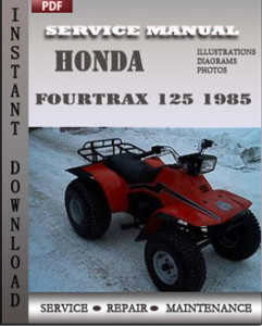 Honda Fourtrax 125 1985 global
