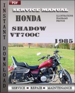 Honda Shadow VT700C 1985 global