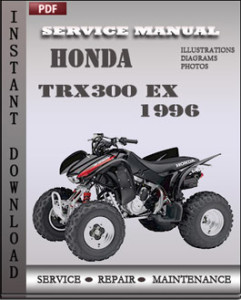 Honda TRX300 EX 1996 global