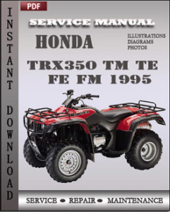 Honda TRX350 TM TE FE FM 1995 global