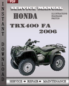 Honda TRX400 FA 2006 global