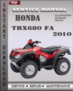 Honda TRX680 FA 2010 global