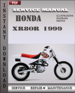 Honda XR80R 1999 global