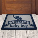 Tapete Capacho Welcome Baby Boy