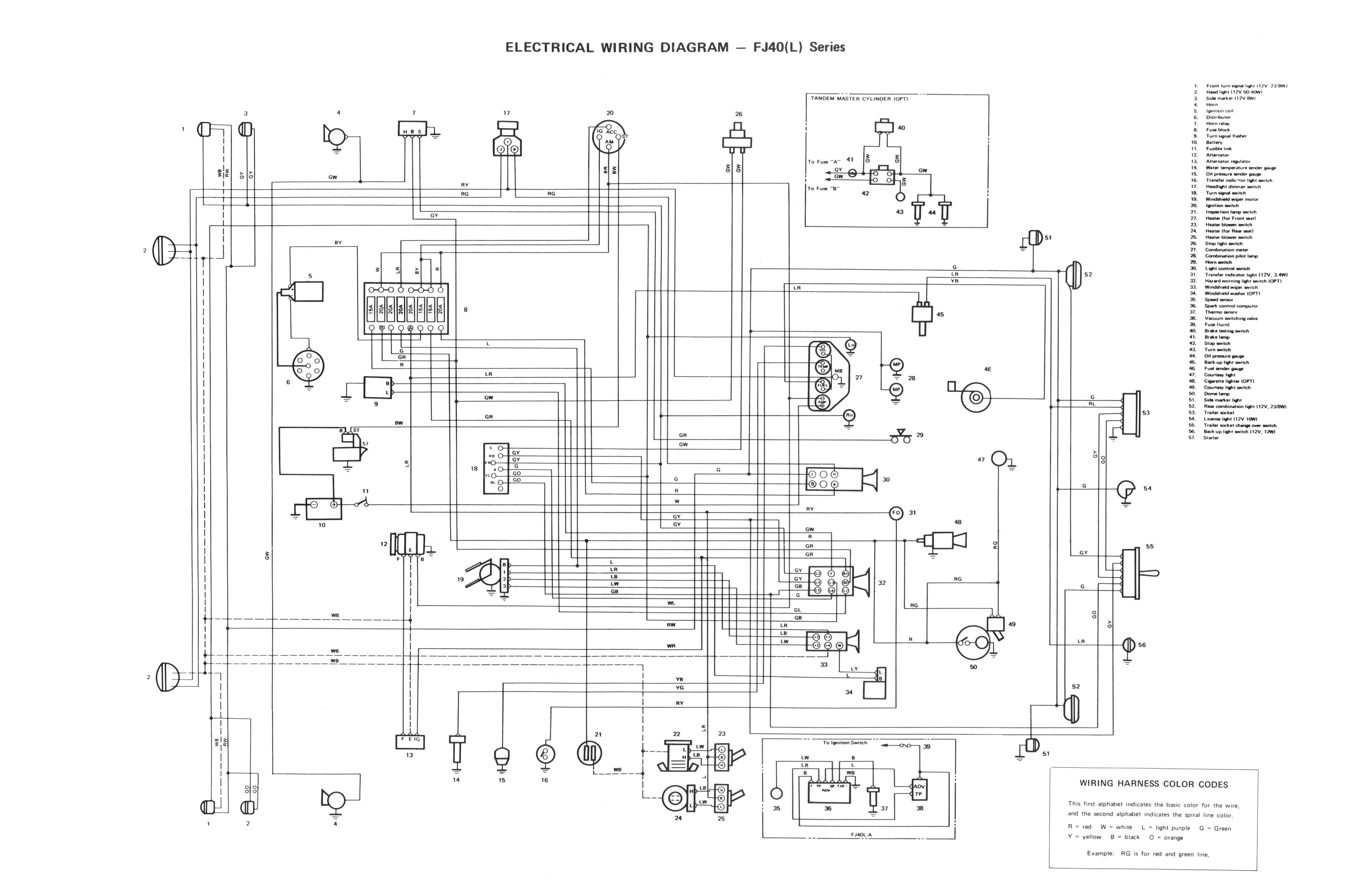 Toyota Land Cruiser Wiring Diagram Vdj79