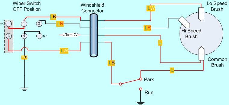 Fj40 Wiper Motor Wiring Diagram - Data Wiring Diagrams • on