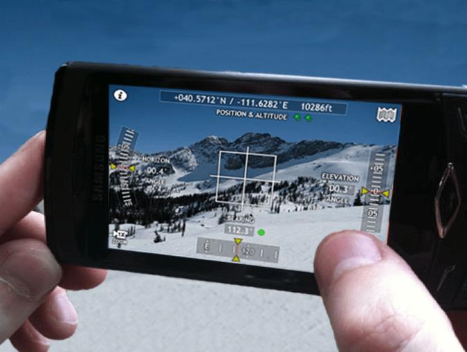 Theodolite AR App