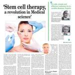 Stem cell therapy is a revolution in medical science