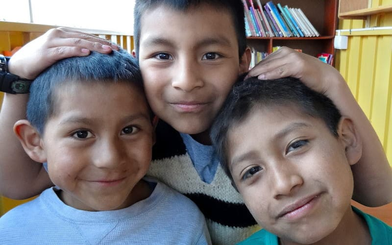 Picaflor House Students, Peru