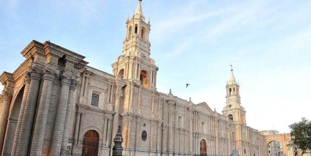 The white city of Arequipa