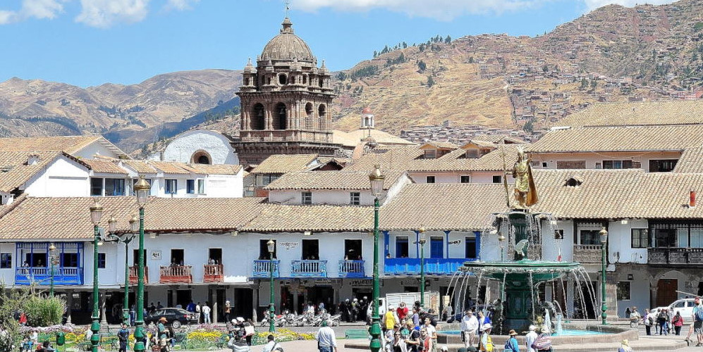 Cusco, the main Plaza de Armas