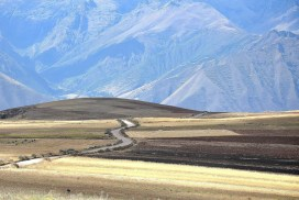The sacred valley in Cusco
