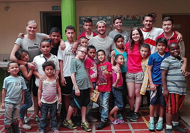 Volunteering Abroad in a group with a UK Charity