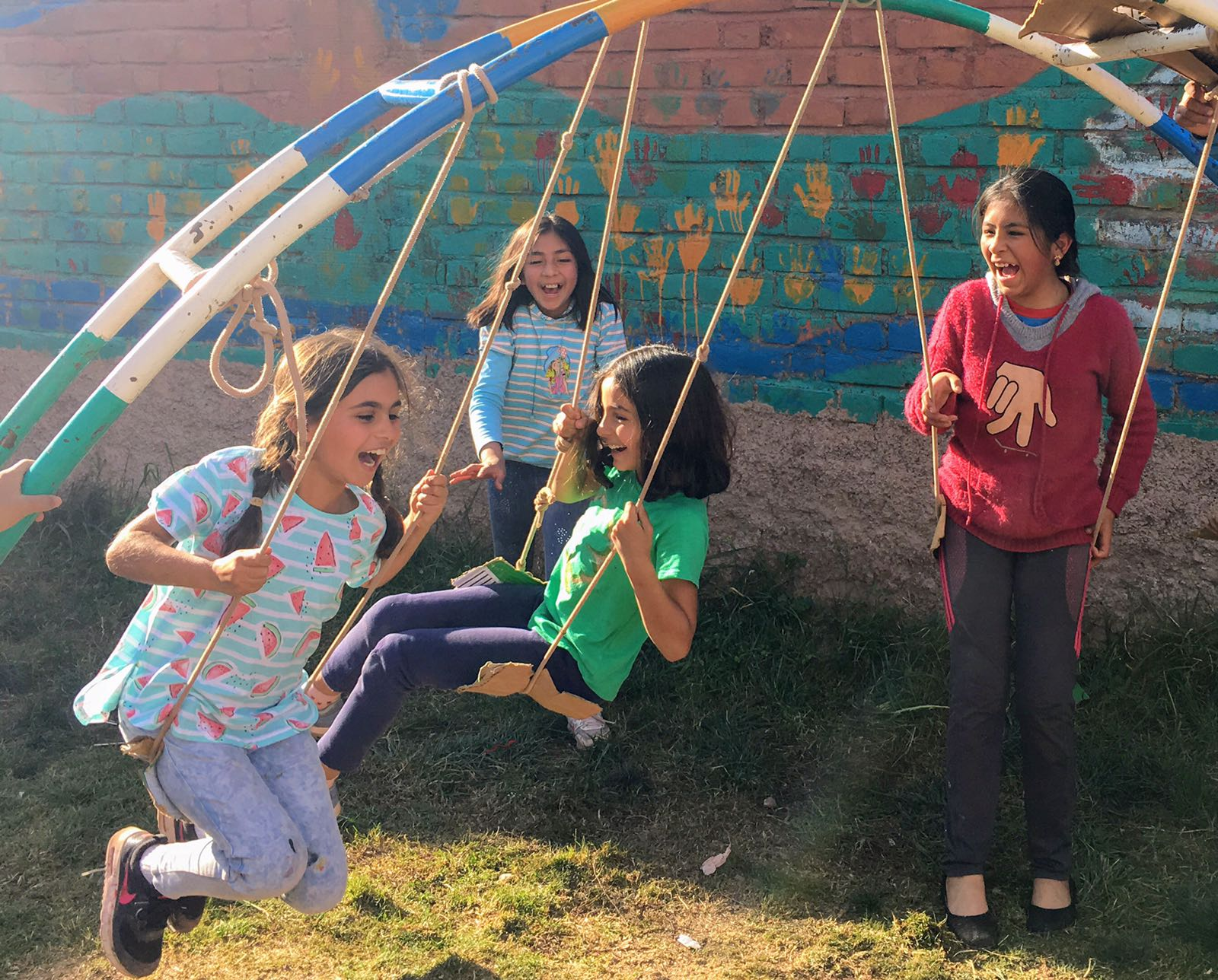 Volunteering abroad as a family group