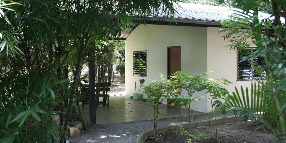Volunteer accommodation at the sanctuary