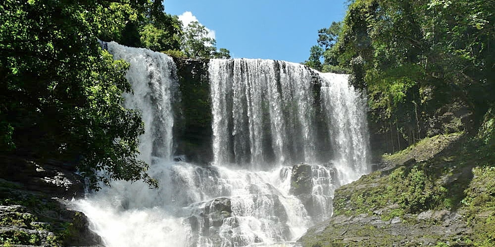 Waterfall near the Cambodia Elephant Sanctuary
