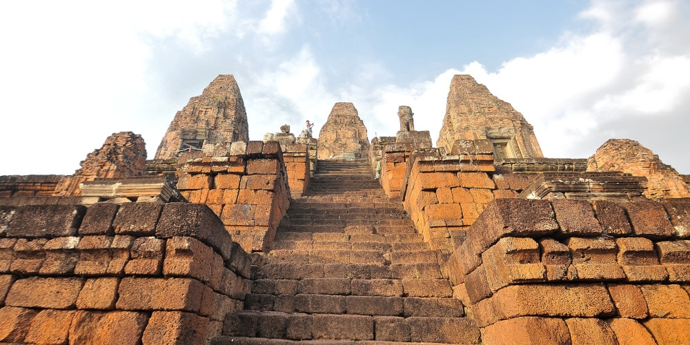 One of Cambodia's magnificent temples in Siem Reap