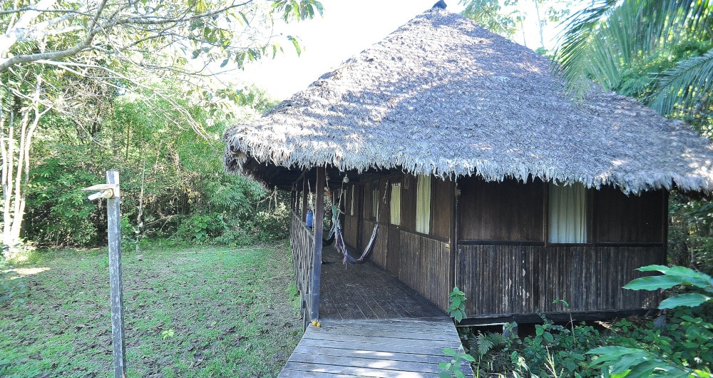 Volunteer Accommodation at the Peru Amazon Wildlife Sanctuary