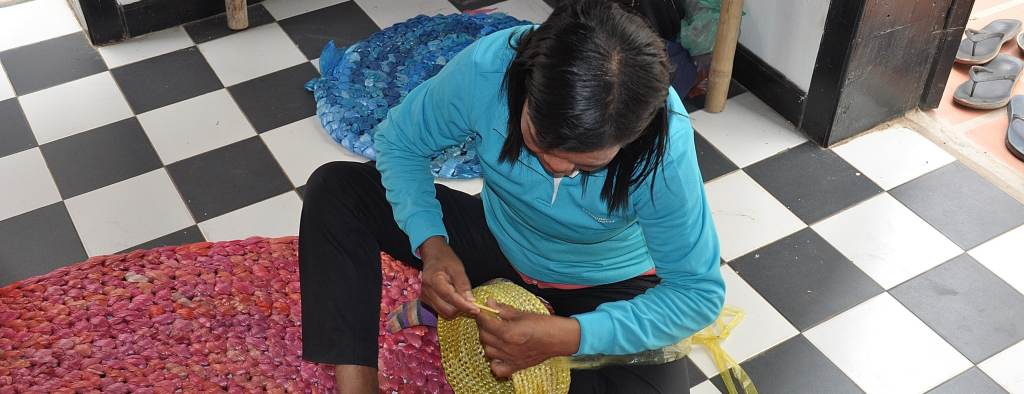 Cambodia Womens Empowerment Project weaving products