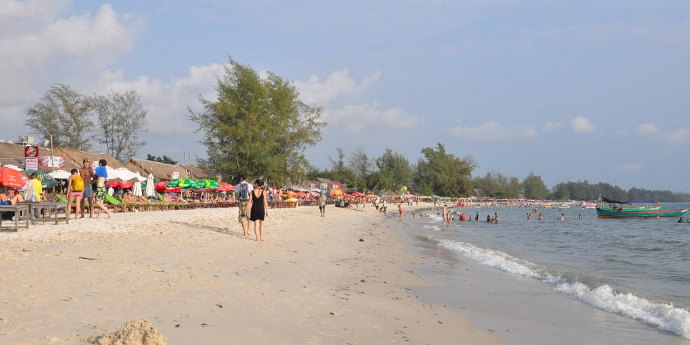 Sihanoukville on Cambodia's south coast