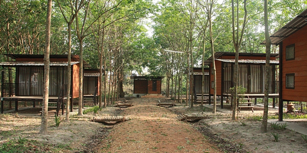 Volunteer Accommodation at the Laos Wildlife Rescue Centre